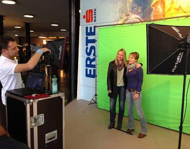 Erste Bank Open Fotopromotion