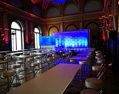 Eventorganisation booking.com Gala