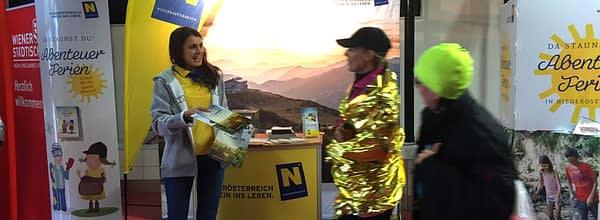 Promotionaktion Wachau Marathon Niederösterreich Werbung