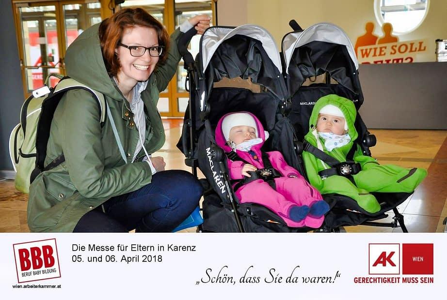Fotopromotion Messe Beruf Baby Bildung