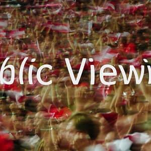 Privat Public Viewing Firmenveranstaltung