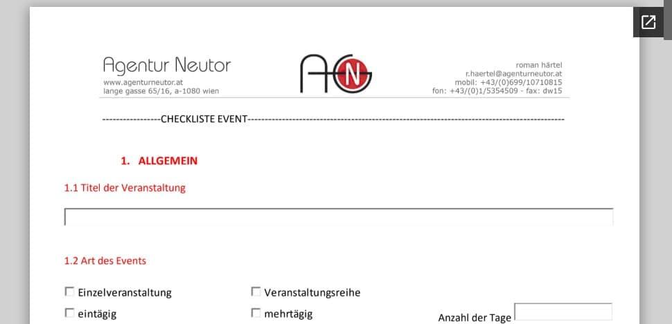 agentur_neutor_Checklist_Event
